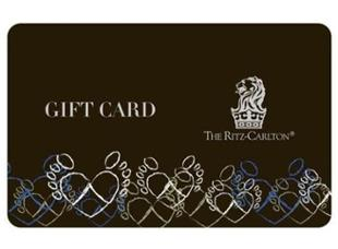 Ritz-Carlton Gift Card USD500