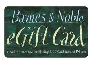 Barnes & Noble Gift Card USD100