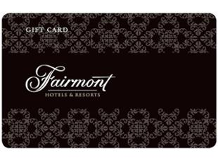 Fairmont Hotels & Resorts Gift Card USD100