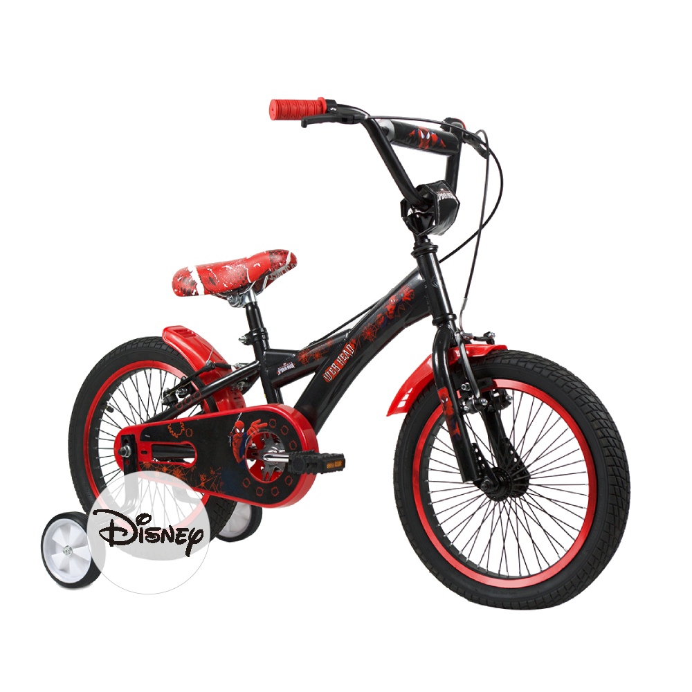 Disney Bicicleta Marvel Spiderman Rodado 16""
