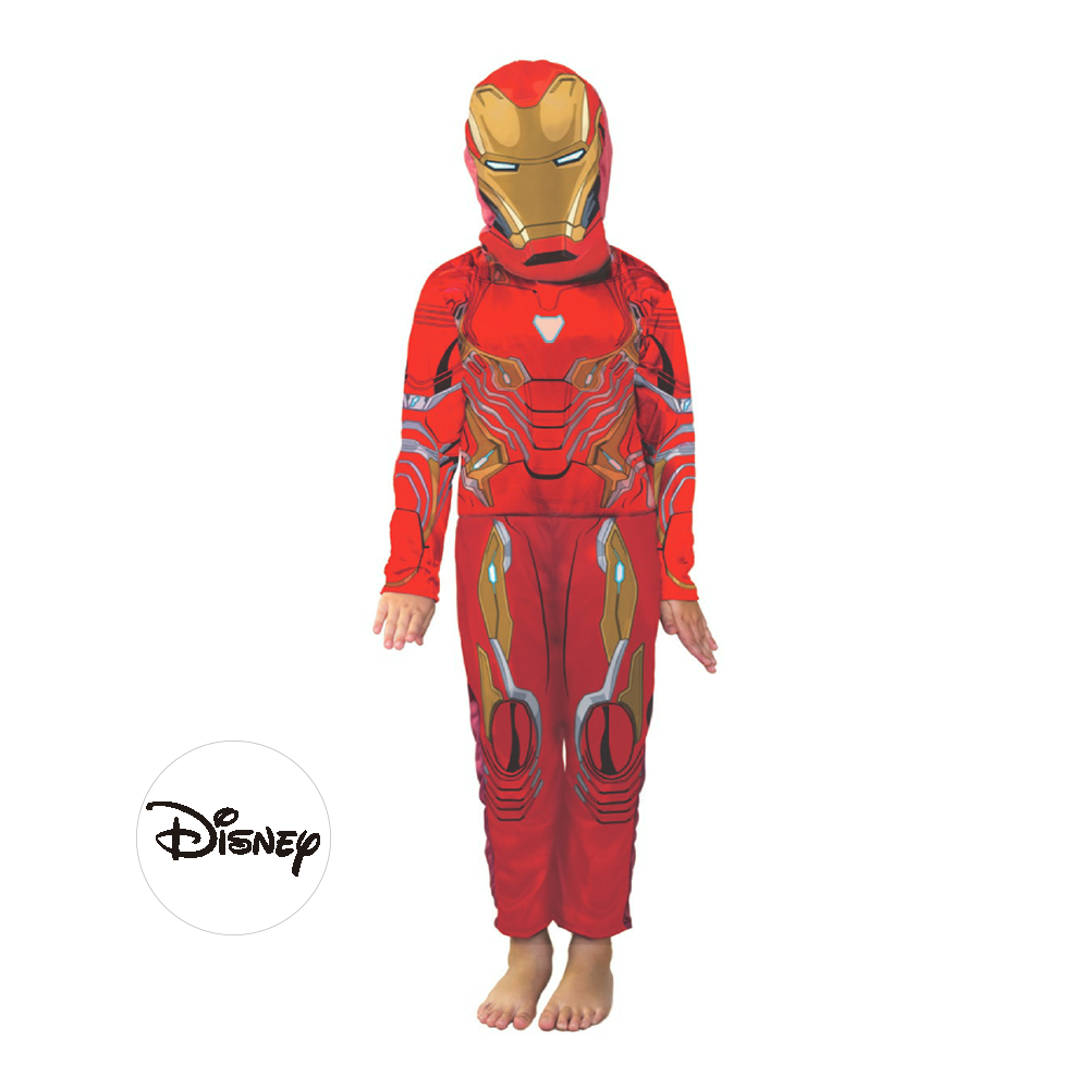 Disney Disfraz Marvel Ironman Disney Talle 1