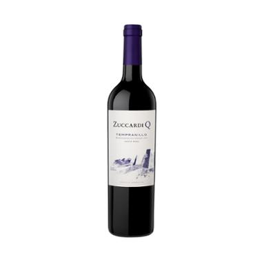 Set de 6 botellas de vino tinto Q Tempranillo 750 ml