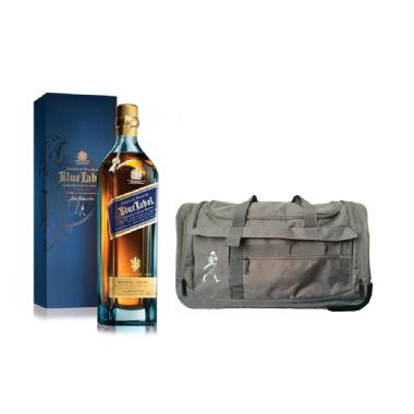 Johnnie Walker Blue Label Edición Especial Buenos Aires + Bolso Carry On