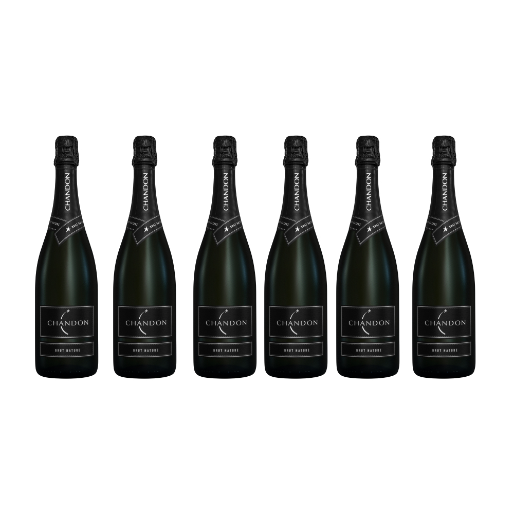 Chandon Champagne Brut Nature x 6