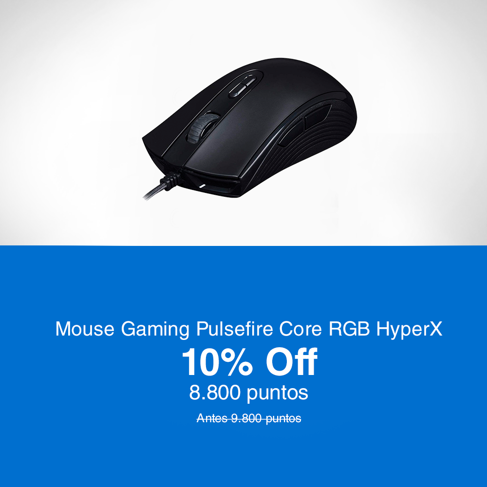 HyperX Mouse Gaming Pulsefire Core RGB