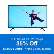 Philips LED Smart TV 32""