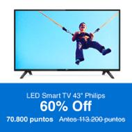 Philips LED Smart TV 43""