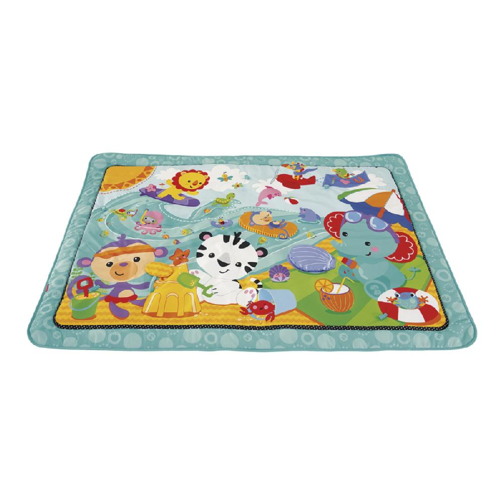 SUPER MANTA DE JUEGO AZUL FISHER PRICE
