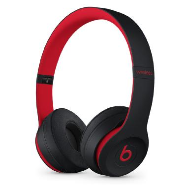 Audífonos Beats Solo 3 Wireless  Defiant Black-Red