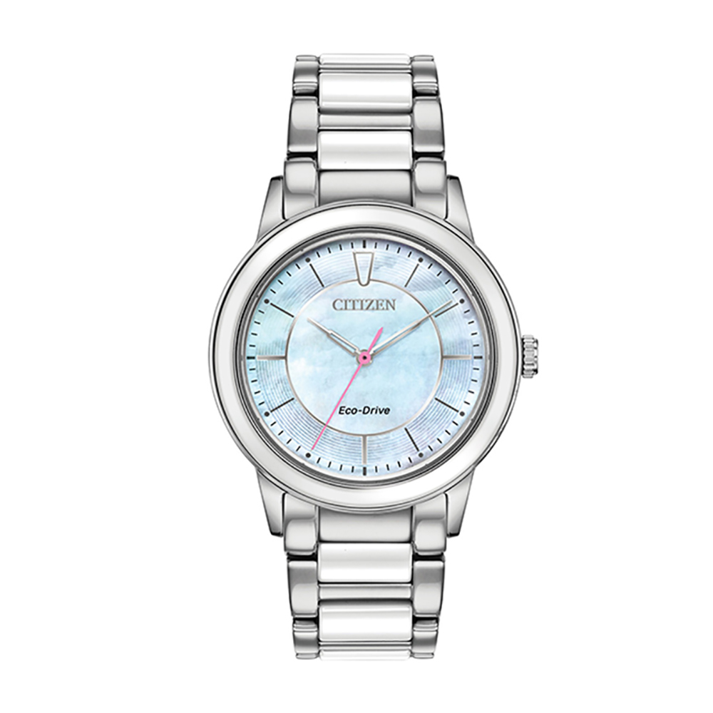 Reloj chandler ceramic unisex azul Citizen