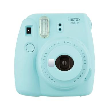 Cámara Instax mini 9, ice blue. Fuji