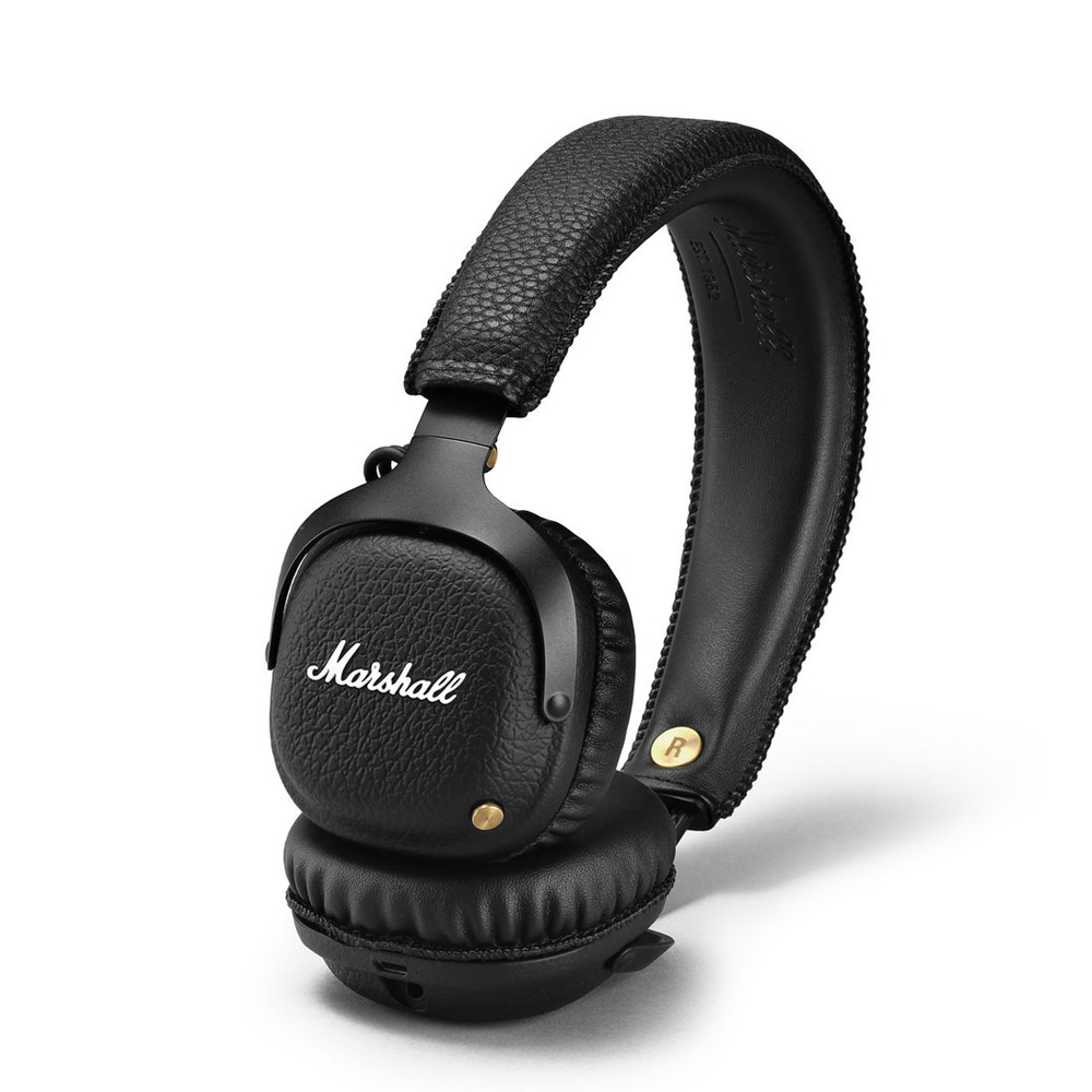 Marshall Mid On Ear Bluetooth Headphone Black