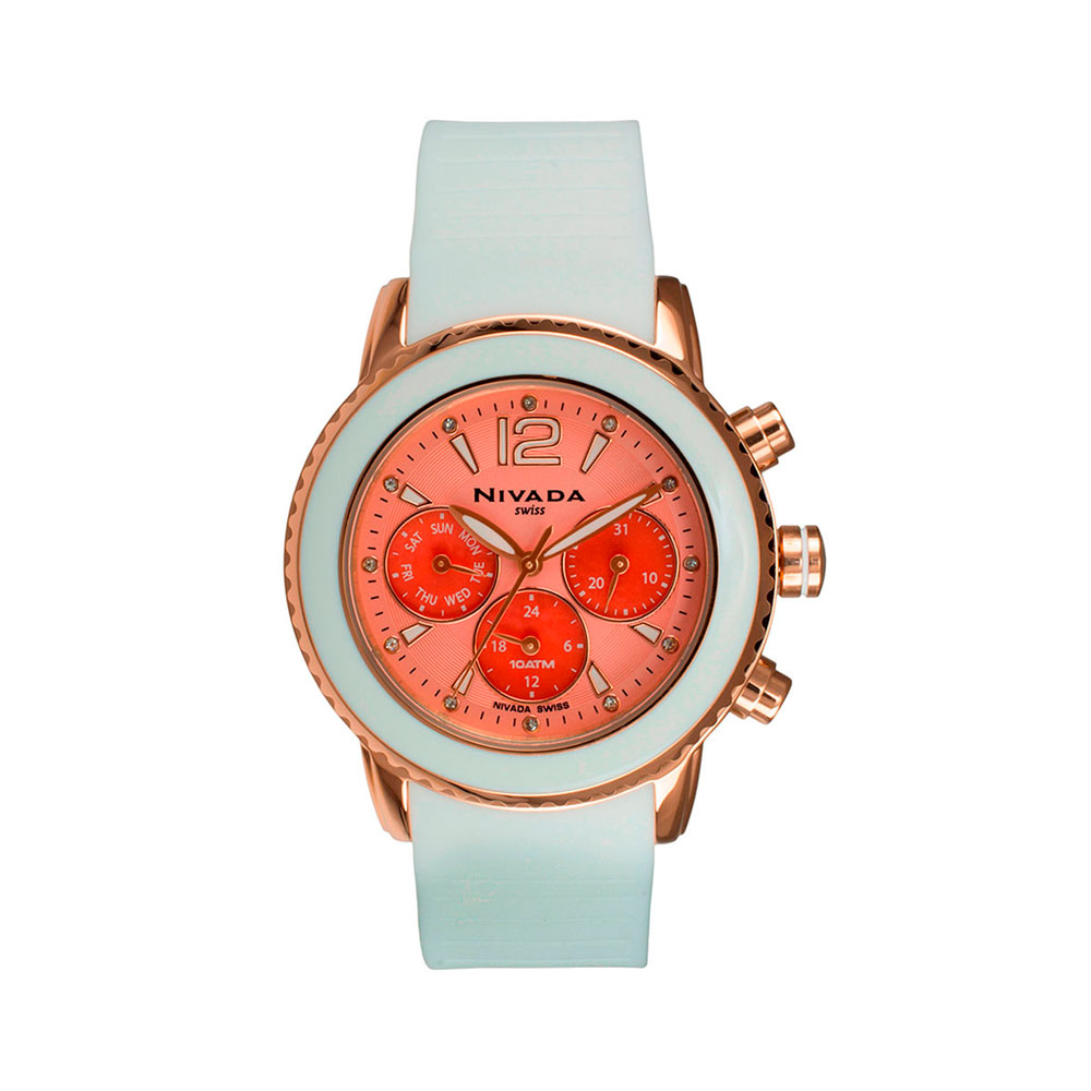 Reloj Moments Citrus oro rosa