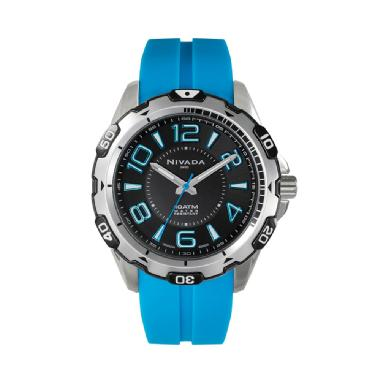 Reloj Moments Sport, azul.