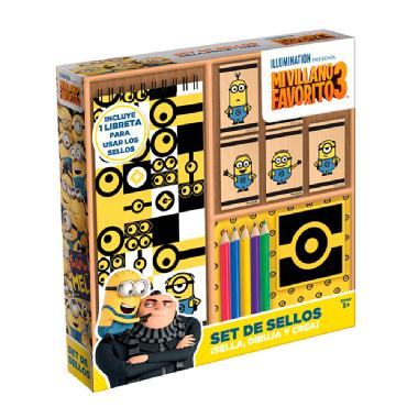 Set de sellos mi villano favorito Novelty