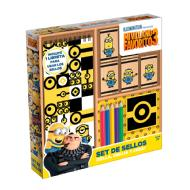 Novelty Set de sellos mi villano favorito