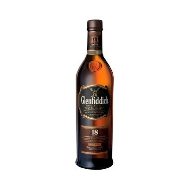 Whisky Glenfiddich 18 años, 750 ml. William Grant's