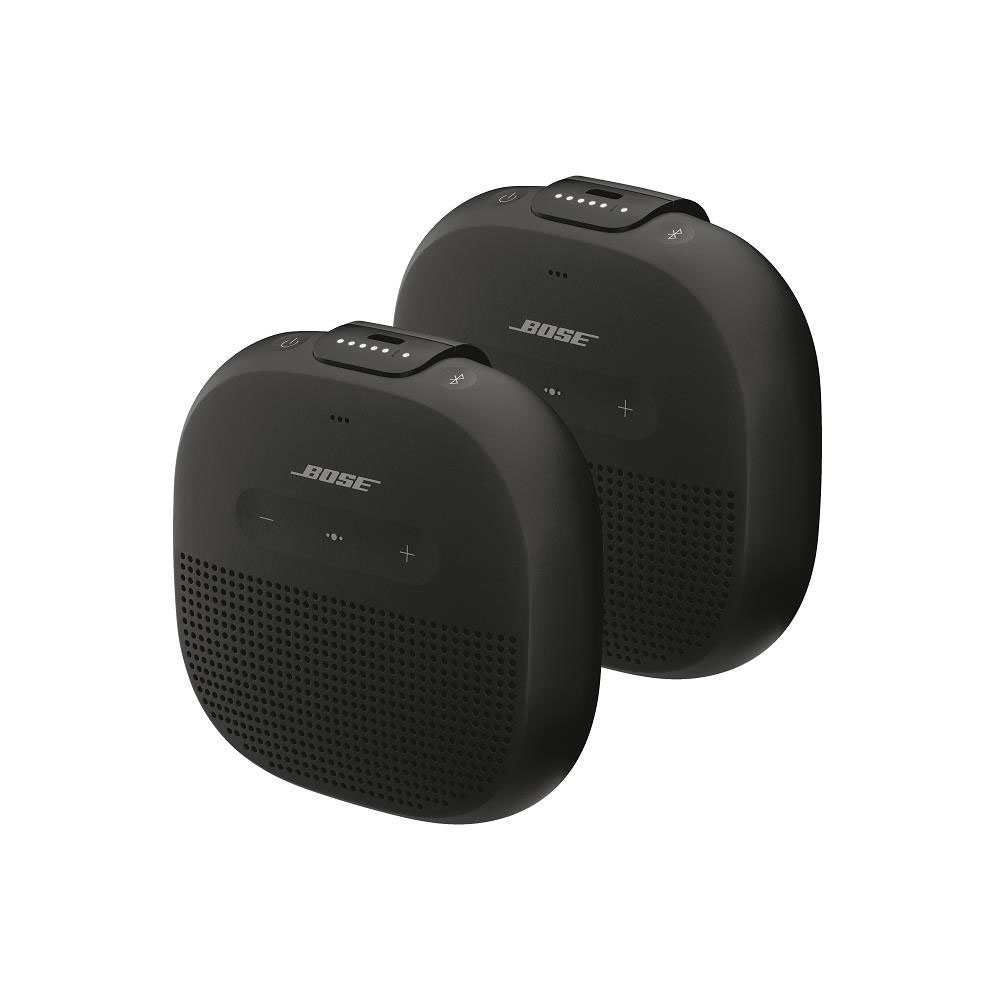 Ensemble de 2 enceintes Bluetooth<sup>MD</sup> SoundLink<sup>MD</sup> Micro de Bose<sup>MD</sup> (noir)