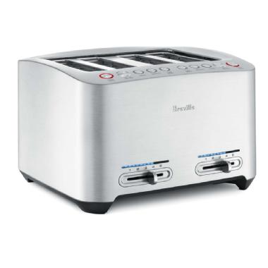 Die-Cast 4-Slice Smart Toaster<sup>MC</sup>