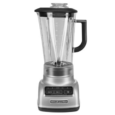 Mélangeur à base losange à 5 vitesses de KitchenAid<sup>MD</sup> (Chrome métallique)