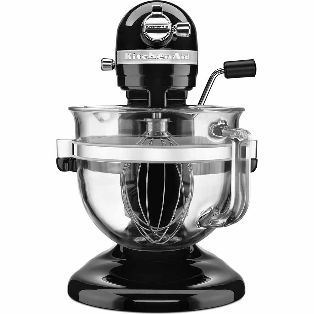 Batteur sur socle à bol relevable de la série 6500 Design<sup>MC</sup>  de KitchenAid<sup>MD</sup> Professional 5,7 L (Onyx noir)