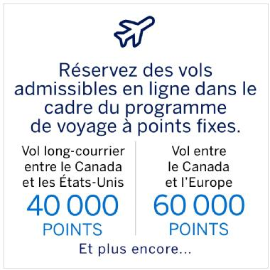Programme de voyage à points fixes