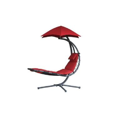 Chaise suspendue « The Original Dream Chair » de Vivere<sup>MC</sup>  (rouge cerise)