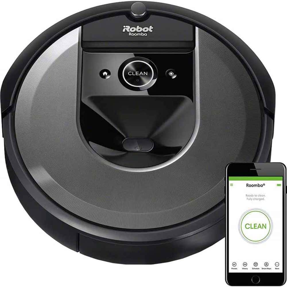 Aspirateur-robot connecté Wi-Fi<sup>MD</sup> Roomba<sup>MD</sup> i7 d'iRobot (Charbon)