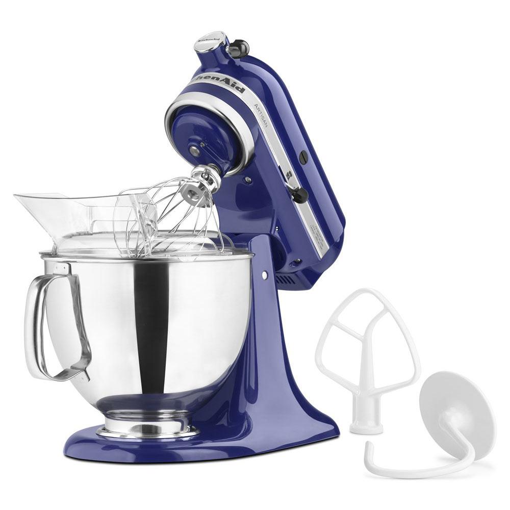 Batteur sur socle à tête inclinable de 4,73 L de la série Artisan<sup>MD</sup> de KitchenAid (Bleu cobalt)
