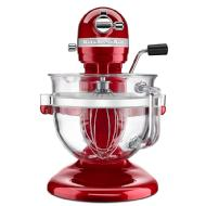 KitchenAid® Batteur sur socle à bol relevable de la série 6500 Design(MC) Professional (Candy Apple Red)