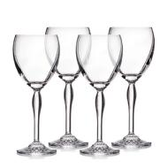 Waterford Ensemble de 4 verres à vin tout usage Ventura Crystal