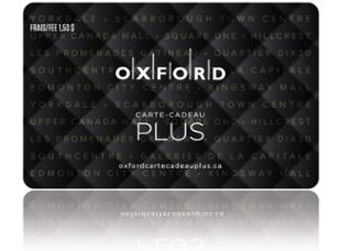 Oxford Properties Carte-cadeau de 100 $