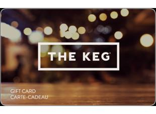 The Keg Steakhouse + Bar Carte-cadeau