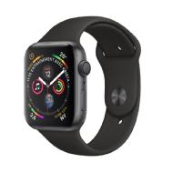 Apple Apple Watch Series 4 GPS + Cellular, 44mm -Boîtier aluminium gris sidéral -Bracelet Sport noir