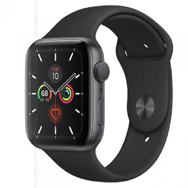 Apple Watch Serie 5 GPS + Cellular, 44mm Grigio Siderale con Cinturino Sport Nero
