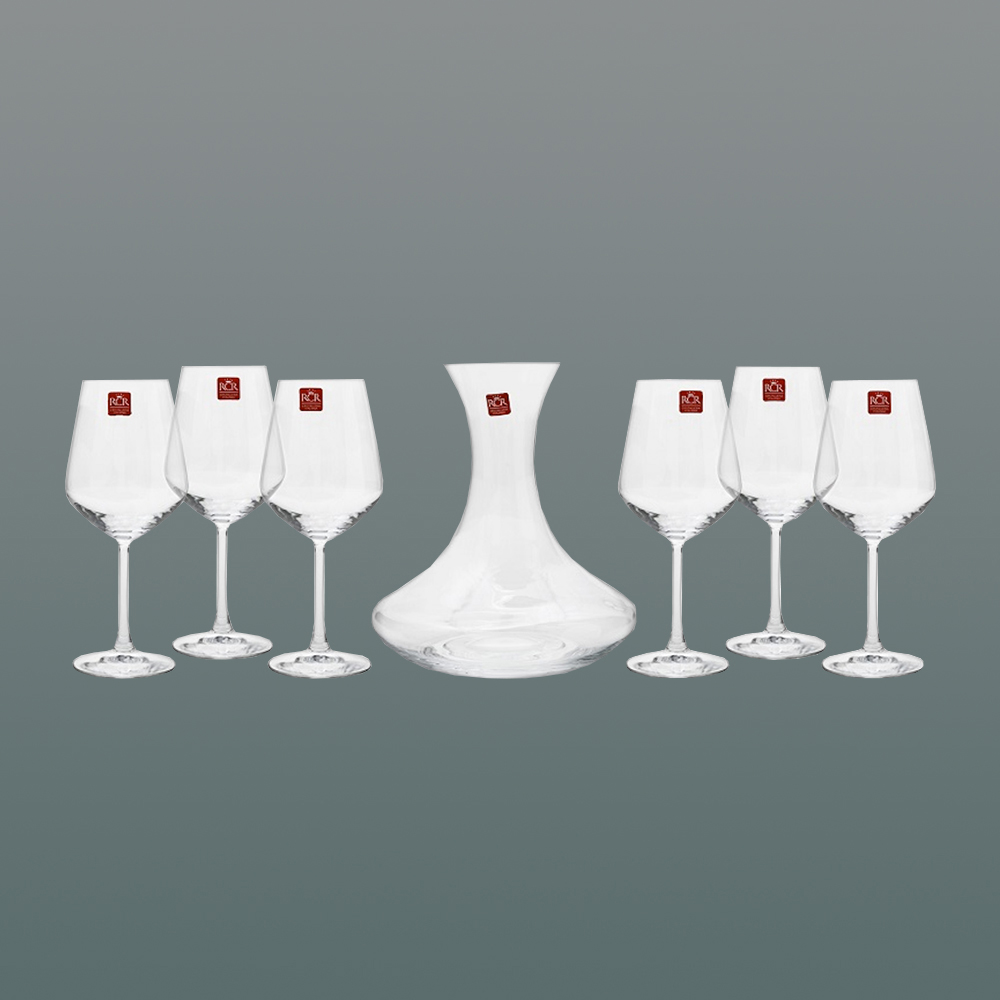 Set 6 calici + decanter - Universum