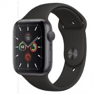 Apple Apple Watch Serie 5 GPS + Cellular, 44mm Grigio Siderale con Cinturino Sport Nero